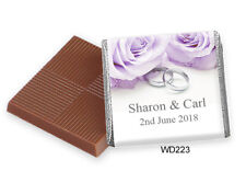 50 Personalised Wedding Favours. Rush Orders Welcome, Huge Choice, Free Postage