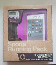 New Sport Running Pack MP3/ IPhone  Holder And Pedometer + Spare Battery
