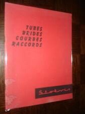 CATALOGUE STOKVIS 1961 - Tubes Brides Courbes Raccords