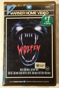Wolfen VHS 1981 Horror Michael Wadleigh 1983 Warner Home Video [Ex-Rental]