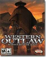 Western Outlaw - PC - Video Game - VERY GOOD