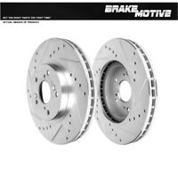 Front Drill & Slot Brake Rotors For Acura CL TL MDX Honda Accord Odyssey Pilot