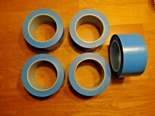 5 ROLLS 3M (4737S) High Temperature Fine Line Tape 4737S Blue, 2 in x 36 yd