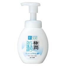 Rohto Hada Labo Gokujyun Super Hyaluronic Acid Face Wash Cleansing Foam 160ml