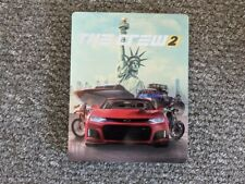 The Crew 2 Steelbook Case (NO GAME INCLUDED)