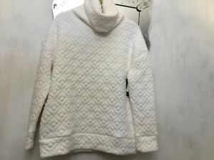 Gap size s 10-12 winter white thick warm cowl neck top new tags RRP £72.95