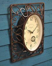 Wall Clock Harrogate Wall Garden Clock Outside In Designs