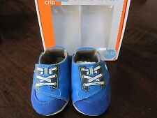 Stride Rite Crib Crawl Lil Speedster Baby Infant Shoes Blue 6-12 months