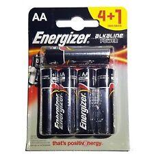 5x Energizer Lr6 Alkaline Power Plus AA Batteries Long-lasting 1.5v 2027 Expiry