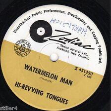 HI-REVVING TONGUES Watermelon Man *NEW ZEALAND 70s BEAT ZODIAC LABEL SINGLE*