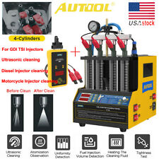 Ultrasonic Fuel Injector Cleaner Tester Autool Ct60ct160 For Tsi Gdi Injectors