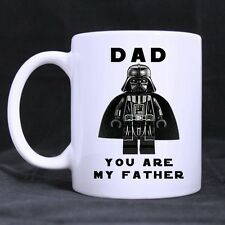 Gift For Dad Funny Dad You Are My Father White Coffee Mug Tea Cup Two Side