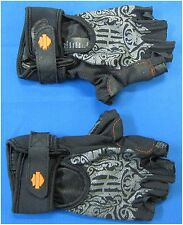 "Harley Davidson New Ladies Size XS-Small Finger Less Gloves ""MotoCruise"""