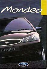 Ford Mondeo 1997 UK Market Fleet Sales Brochure Aspen LX GLX Si Ghia X ST24