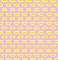Heather Bailey Bijoux Mod Beads in Pink Fabric 1yd