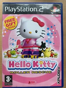 Hello Kitty Roller Rescue Sony PlayStation 2 PS2 Game Family Children's Kids