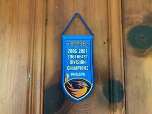Atlanta Thrashers 2006-07 Southeast Division Champions Banner 3.5 x 7.5 SGA
