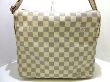 Auth LOUIS VUITTON Naviglio N51189 Azur Damier SR2057 Shoulder Bag