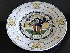 "Gezelligheid Kent Geen Netherlands Circa 1920 ""CHRIS VAN DER HOEF"" Wall Plate"