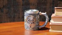 Game of Thrones 3D Mug House Greyjoy (Stainless Steel Cup and Plastic cover)