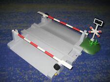 Playmobil Eisenbahn RC Train - Bahnübergang mit Schranken für 4010 40111 usw.