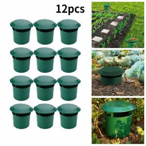 Schneckenfalle 12er Set Giftfrei Schneckenabwehr Pflanzschutz für Garten Gemüse