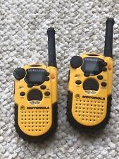 2 Motorola Talkabout 250 2 Way FRS Radios With Channel Lock and Scan Mint Condit