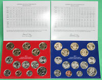 2011 P and D Uncirculated US Mint Annual Coin Set 28 Coins with COA
