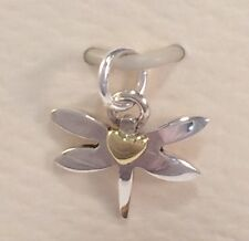 Tiny Dragonfly Charm Pendant 925 Sterling Silver Handmade Gift Boxed Far Fetched