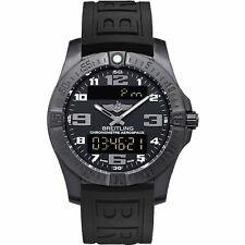 Breitling V7936310-BD60-153S Aerospace Evo Night Mission Men's Rubber Watch