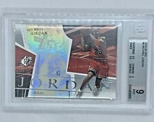 2003-04 SPX Michael Jordan #9 BGS MINT 9 Chicago Bulls SICK!!! in hand