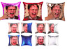Funny DWIGHT SCHRUTE Reversible Cushion Covers! THE OFFICE Sequined UK Gift 40cm