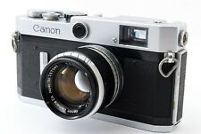 **AS IS** Canon P rangefinder Film Camera 50mm f1.8 Lens Leica Screw L39 #A778