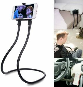 TechFlo Flexible Lazy Neck Mobile Phone Stand Bendable Holder for Smartphones