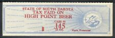 SOUTH DAKOTA Beer Tax revenue SRS SD BW76c
