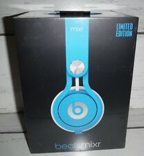 NEW Beats By Dr. Dre Mixr On-Ear Limited Edition Headphones- Neon Blue SEALED