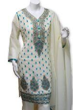 Party Wear Chiffon Dress With Gharara Pants Pakistani Indian Style
