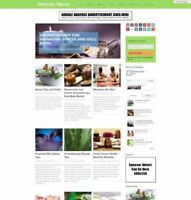 AROMATHERAPY STORE Established STORE Online Business Website For Sale + Domain