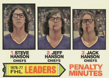 THE HANSON BROTHERS SLAPSHOT ACEO ART CARD ### BUY 5 GET 1 FREE ##