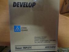 Genuine DEVELOP INEO C25 CYAN TONER CARTRIDGE TNP27C AOX54D4