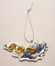 Disney Donald Duck Tangled in Christmas Lights Ornaments