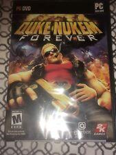 DUKE NUKEM FOREVER Pc DVD- Rom  Game Mature Brand New Sealed