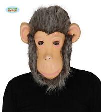 Guirca Maschera Scimmia Animali Carnevale Uomo Donna adulto Mod. 2473 T.u