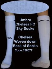 UMBRO CHELSEA AWAY SOCK UK 7-11 EURO 41-46 SKY Adulti