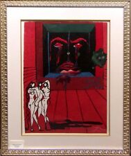 Salvador Dali Obsession of the Heart Hand Signed Original framed Make an Offer