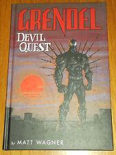 GRENDEL DEVIL QUEST DARK HORSE BOOKS MATT WAGNER HARDBACK 9781593078881
