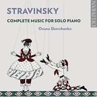 Oxana Shevchenko - Stravinksy: Complete Music For Solo Piano (NEW 2CD)
