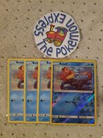 Pokémon TCG 4x Buizel #35/156 (1 Rev Holo) Common Mint SM Ultra Prism Water Type