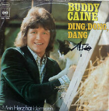 """7"""" 1973 KULT IN VG++ ! BUDDY CAINE : Ding Dong Dang"""