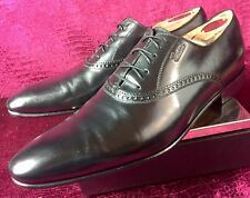 cb5c1dbf5d4 Mens Black Gucci Oxford Shoes Loafers Drivers Sz 7.5 G   8.5 D US ITALY